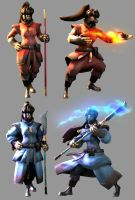 Pyros of the Phoenix Clan by uberchain