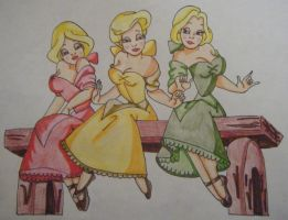 Gaston's Girls by englishlitqueen