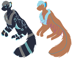 Lineless Adopts by Nix-Sil