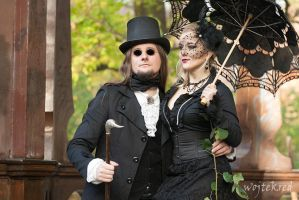 Victorian couple by psychodelic-candy