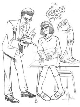 Egon and Velma by whatwouldjoshdo