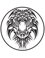 Lion Logo by Valanyonnen