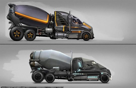 Concept: Cement Movers by ConceptSparks