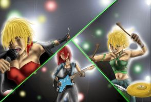 Rockband by Miraged-wings