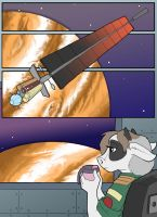 Goat In Space Pg 1 by DataPacRat
