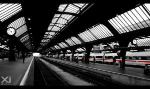 The Station in Zurich by xi-graphics
