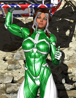 X-School Showin' Off - Rogue by Sailmaster-Seion