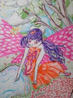 Fluro Fairy by PieChan34-Creations