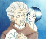 Grandfather and grandson. by KN-KL