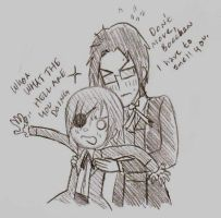 ciel and claude are in love by Jevsy