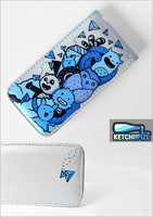 Hand painted custom Iphone case by Ketchupize