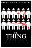 The Thing poster by DarioPC17