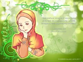 hijab is my choice by kuzuryo