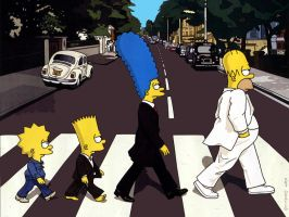 Simspons Beatles by jaa95