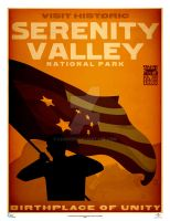 Serenity Valley Poster by lexigeek