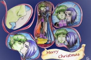 Mistletoe - by lynz25 by teentitans