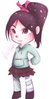 Vanellope by JinnyMoose