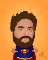 Zach Galifianakis by RealitygIL