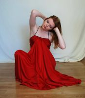 Red Dress Stock 4 by chamberstock
