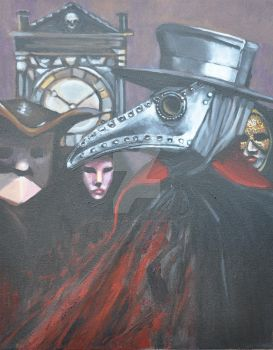 The Masque of the Red Death by BruceCollinsArt