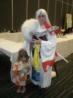Sesshomaru and Rin Cosplay by spagetti-sauce