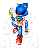 Metal Sonic by spdy4
