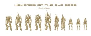 Character - Church of Spears by longgi