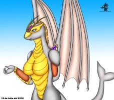 Gift to me and collab - Lanca by Dragon-Rage2