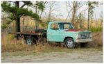 A Ford Flatbed Truck by TheMan268