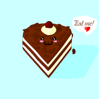 Cute piece of cake by Kahall