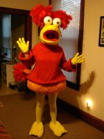 Red Fraggle by aperfectmjk