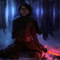 Kylo Ren - The Force Awakens by TheObliviousOwl