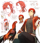 Plume Parade: Asil Chicken by ROSEL-D