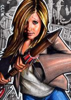Buffy - Sketch Card by J-Redd