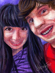 Airwin and Yennie Fer Portrait by FaithWalkers