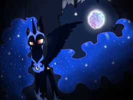Nightmare moon reigns by Chargerwuvsstarbucks