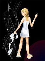 Not Alone--Namine's Corner by terriblenerd