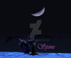Spine Moon by CoolMan666
