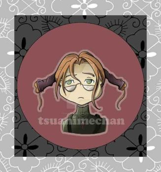Witch Hunter Robin Buttons by tsuanimechan