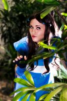 Katara: Hidden in the Leaves by xYaminogamex