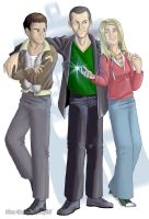 The TARDIS Crew by Ferntree