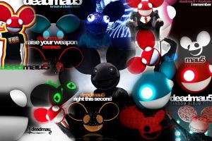 Deadmau5 Collage by HeroMAU5