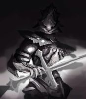 The Old Dragonslayer, the Ornstein Imposter? WIP by NoRabbitRequired