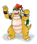 King Bowser Koopa by GuardianAngel9x
