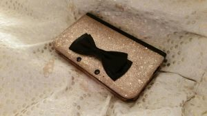 3DS XL champagne case by PokeShoppe