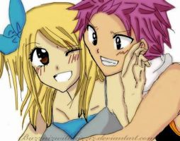 Nalu - Hehe natsu you are so cute .. by felixne