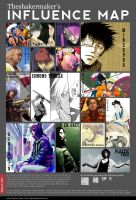 Influence map by Dijun-Jr