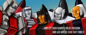 Aerialbots by Sinceredir