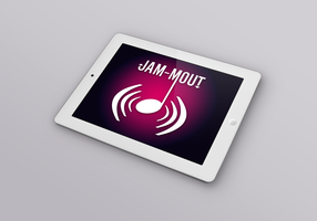 Jam-mout for iPad by ndenlinger