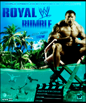 WWE ~ Royal Rumble 2009 ~ Poster by MhMd-Batista
